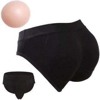 TaRiss's カバーパンツ メンズ 女装用 シリコン ブラック Mサイズ(その他)