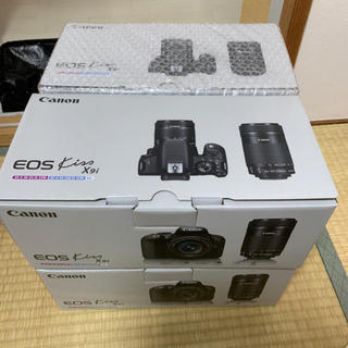 Canon デジタル一眼レフカメラ EOS Kiss X9i ダブルズーム 6台