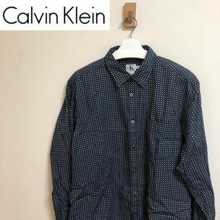 カルバンクライン(Calvin Klein)のCalvin Klein 柄シャツ 総柄 カルバンクライ(シャツ)