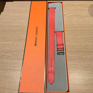 Hermes - Apple Watch ドゥブルトゥール エルメス ローズ・ジャイプール