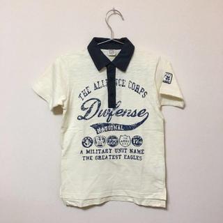 スキップランド(Skip Land)の新品★スキップランド★生成ポロシャツ (130)  綿100%(Tシャツ/カットソー)