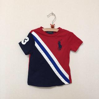 ポロラルフローレン(POLO RALPH LAUREN)のRALPH LAUREN★ラルフローレン★赤のTシャツ 12M(80)(Tシャツ)