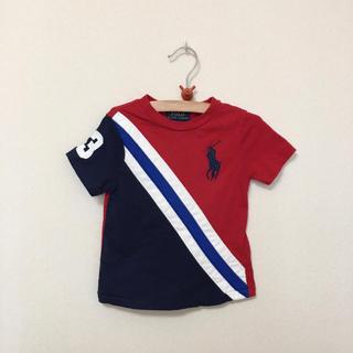 POLO RALPH LAUREN - RALPH LAUREN★ラルフローレン★赤のTシャツ 12M(80)