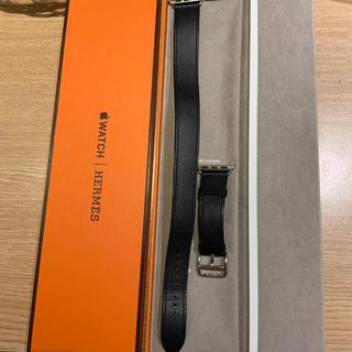 Hermes - (正規品) Apple Watch ドゥブルトゥール エルメス インディゴ