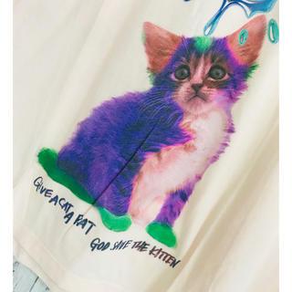 ミルクボーイ(MILKBOY)の夢虹cat芸術にゃん。廃盤ミルクボーイTシャツ レフレム CIVARIZE 愚弄(Tシャツ/カットソー(半袖/袖なし))