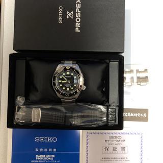 SEIKO - 未使用 8月1日購入 SEIKO SBDX017 マリンマスター mm300
