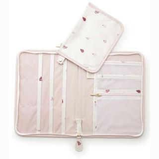 gelato pique - 新品未使用⭐︎ジェラートピケ母子手帳ケース フルーツ柄 ピンク いちご チェリー