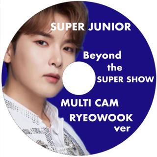 スーパージュニア(SUPER JUNIOR)のBeyond LIVE マルチカム リョウクver DVD(アイドル)