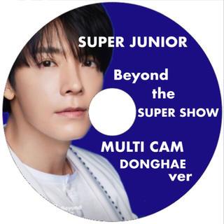 スーパージュニア(SUPER JUNIOR)のBeyond LIVE マルチカム ドンヘver DVD(アイドル)