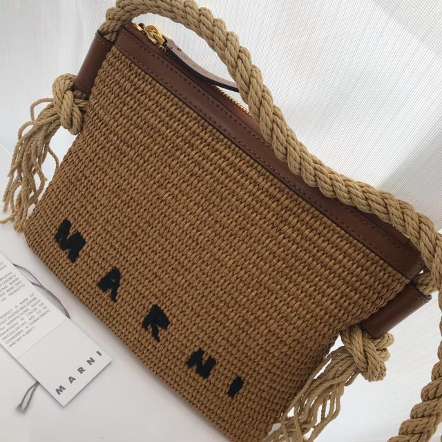 Marni(マルニ)の【新品】マルニ かごバッグ ショルダーバッグ レディースのバッグ(かごバッグ/ストローバッグ)の商品写真