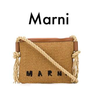 Marni - 【新品】マルニ かごバッグ ショルダーバッグ