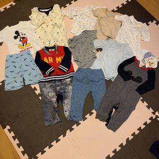 ムジルシリョウヒン(MUJI (無印良品))のベビー 赤ちゃん洋服 まとめ売り 14点セット(ロンパース)
