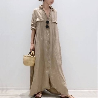 L'Appartement DEUXIEME CLASSE - REMI RELIEF MAXI シャツワンピース