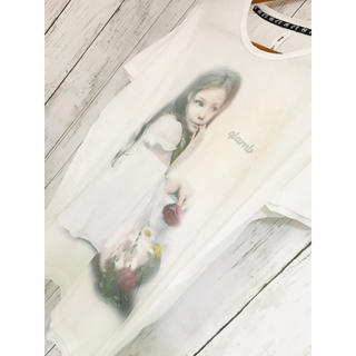グラム(glamb)の妖精薔薇愛少女芸術。極限定glambTシャツ希望 MILKBOY FR2 Y-3(Tシャツ/カットソー(半袖/袖なし))