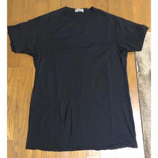 ヨウジヤマモト(Yohji Yamamoto)のyohji yamamoto POUR HOMME 切り込みカットソー(Tシャツ/カットソー(半袖/袖なし))