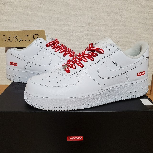 Supreme(シュプリーム)の美品!Supreme × Nike Air Force 1 Low 27.5cm メンズの靴/シューズ(スニーカー)の商品写真