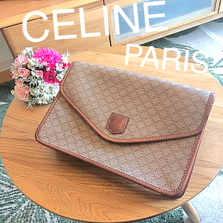 celine - ☆CELINE☆オールドセリーヌ クラッチバッグ マカダム柄 ヴィンテージ
