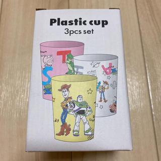 スリーコインズ(3COINS)の【新品未使用】トイストーリー スリーコインズ プラスチックコップセット(キャラクターグッズ)