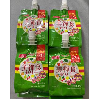 ドクターシーラボ(Dr.Ci Labo)のドクターシーラボ 美禅食ゼリー ローズピーチ風味 200g×4個(ダイエット食品)