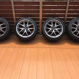 スバル - WRX STI VAB純正ホイール4本 極美品 BBS鍛造 245/40/18