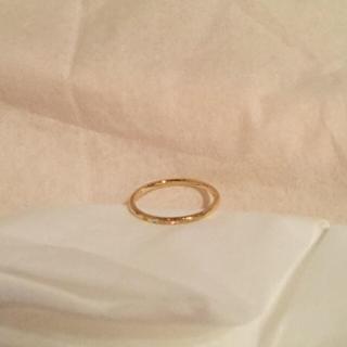 アーカー(AHKAH)のAHKAH メテオールリング (リング(指輪))