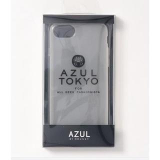 アズールバイマウジー(AZUL by moussy)のAZUL TOKYO アズールトーキョー スモークスマホケース (iPhoneケース)