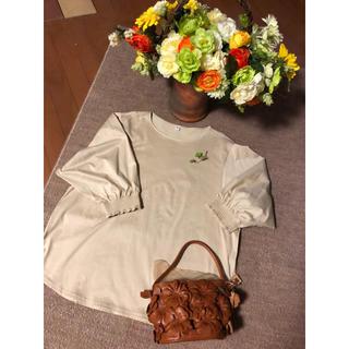 ユニクロ(UNIQLO)の💘UNIQLO ユニクロ今季 5分袖ティーシャツ❣️❣️(Tシャツ(長袖/七分))