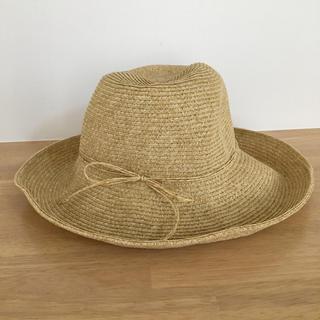 ユニクロ(UNIQLO)のユニクロ アジャスタブルキャペリンハット(麦わら帽子/ストローハット)