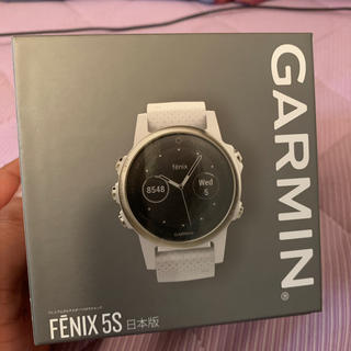 GARMIN - garmin fenix5s sapphire white