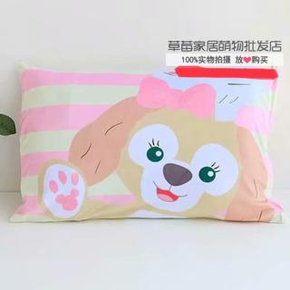 ダッフィー(ダッフィー)の日本未発売 クッキーアン  枕カバー ピロケース   ラス1(クッションカバー)