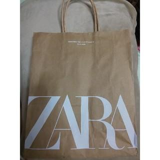 ザラ(ZARA)のZARA ショップ紙袋 約22cm×26cm×10cm(ショップ袋)