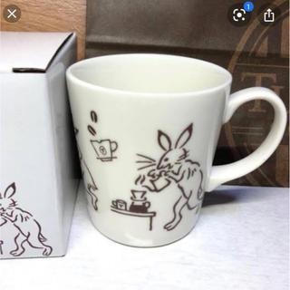 タリーズコーヒー(TULLY'S COFFEE)のタリーズ  鳥獣戯画シリーズマグカップ一個(グラス/カップ)