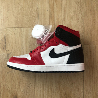 NIKE - NIKE AIR JORDAN 1 SATIN RED