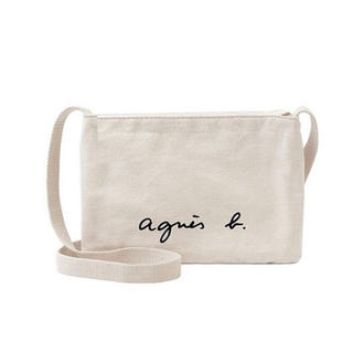 agnes b. - アニエスベー サコッシュ アイボリー