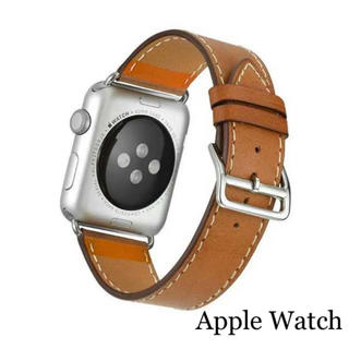 Apple Watch - アップルウォッチ インスタ大人気 高品質! 本革 バンド 38mm 40mm