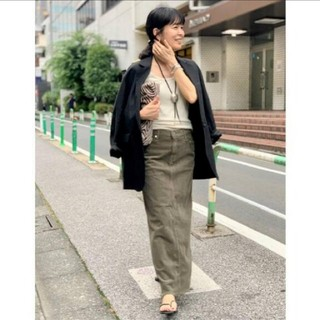 L'Appartement DEUXIEME CLASSE - 【UPPER HIGHTS/アッパーハイツ】Corduroy Long スカート