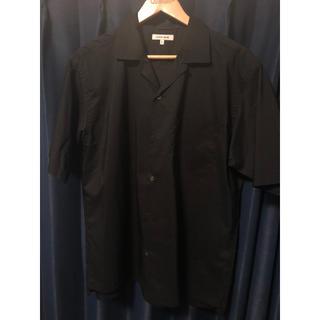 GLOBAL WORK - GLOBAL WORK(グローバルワーク) 半袖 オープンカラーシャツ ブラック