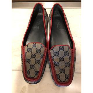 グッチ(Gucci)のグッチ フラットシューズ(ローファー/革靴)