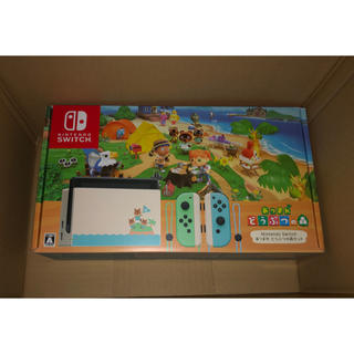 Nintendo Switch - 【新品未開封品】どうぶつの森 同梱版 セット ニンテンドースイッチ