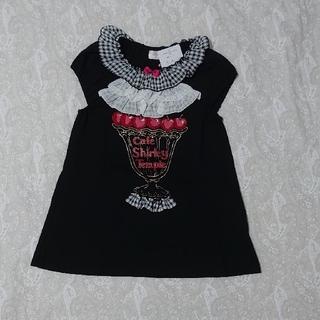 Shirley Temple - シャーリーテンプル パフェチュニック 黒 130