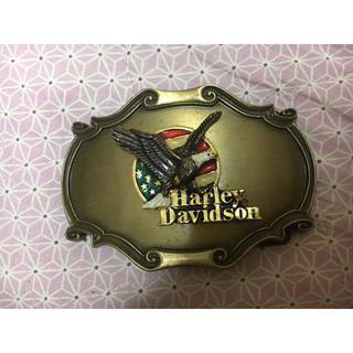 ハーレーダビッドソン(Harley Davidson)の《Harley Davidson》ベルトバックル(ベルト)