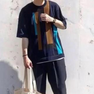 ステュディオス(STUDIOUS)のSTUDIOUS マルチカラードッキングニット 2(Tシャツ/カットソー(半袖/袖なし))