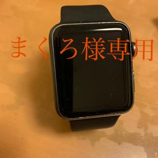 アップル(Apple)のアップルウォッチ シリーズ1 ステンレスバンド付き(腕時計(デジタル))