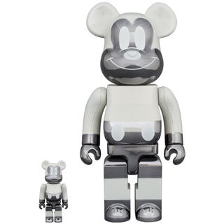 メディコムトイ(MEDICOM TOY)のBE@RBRICK fragmentdesign MICKEY MOUSE ×2(その他)