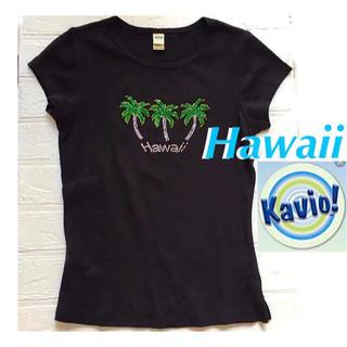 【KAVIO】Tシャツ トップス カットソー レディース 黒