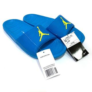 NIKE - 新品 25.0cm ナイキ ジョーダン ブレイク スライド サンダル ブルー