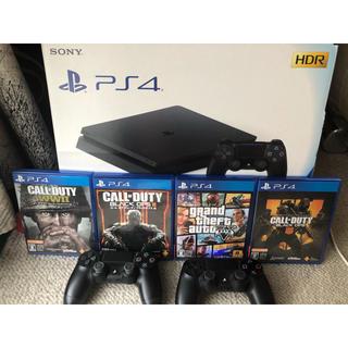 PlayStation4 - ps4本体+コントローラー1つ+ゲーム 今日中に発送可