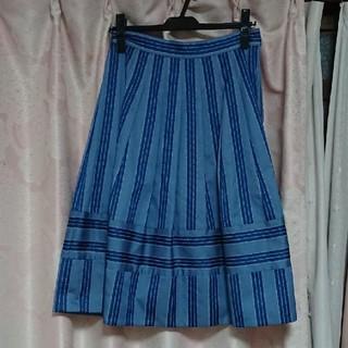 ジェーンマープル(JaneMarple)のジェーンマープル レジメン美品(ひざ丈スカート)