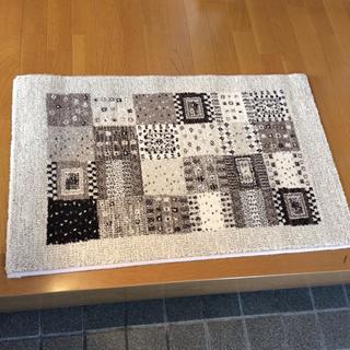 玄関マット ベルギー絨毯 新品60*90cm(玄関マット)