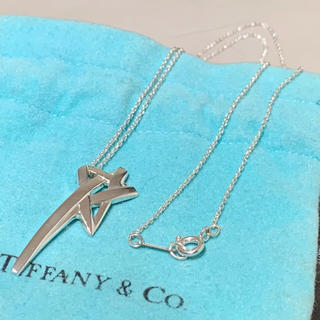 Tiffany & Co. - 良品 希少 ティファニー スター チェーン ネックレス ペンダント SV925